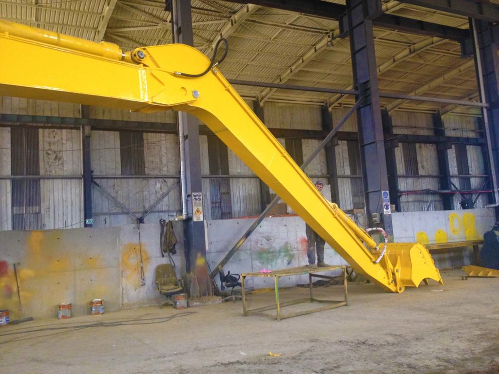 Long Reach Boom-Arm