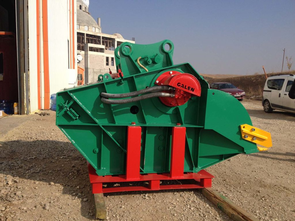 Bucket Crusher Recyling Attachments