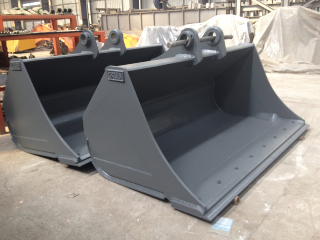 High Dump Bucket Excavator Loader