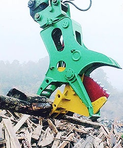 Tree Shear Recyling Attachments
