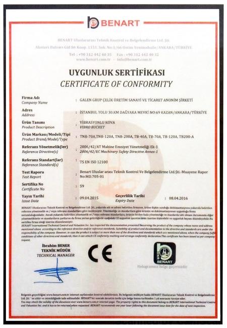 Certicificates Galen