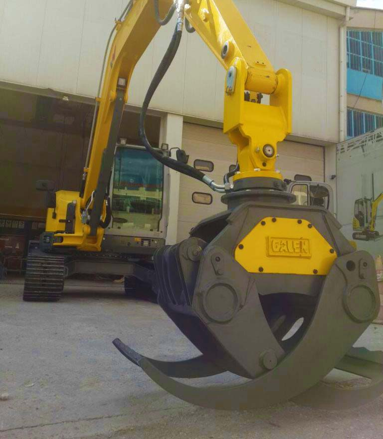 Timber Grapple Handling and Compact Attachments