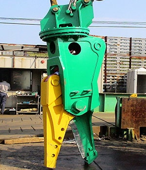 Scrap Cutting Shear Railway Attachment
