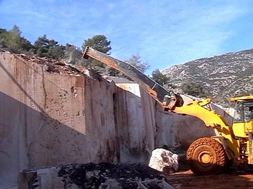 Marble Demolition Boom