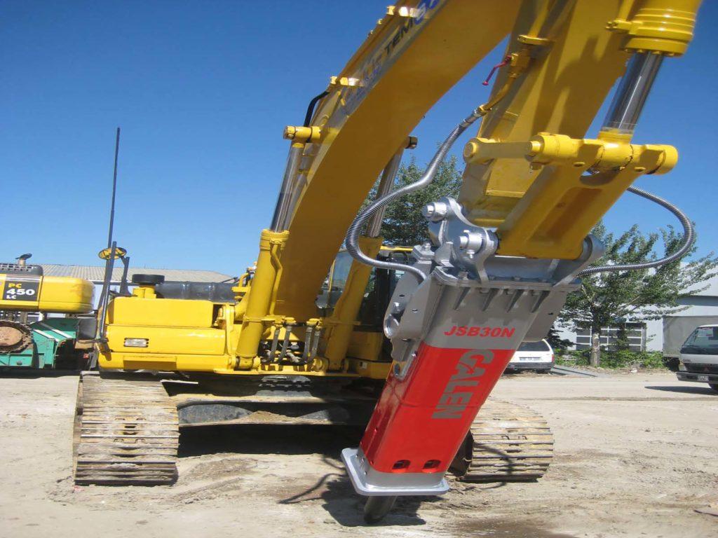 Hydraulic Crusher Handling and Compact Attachments