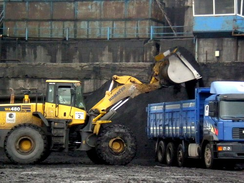 Coal Bucket Loader