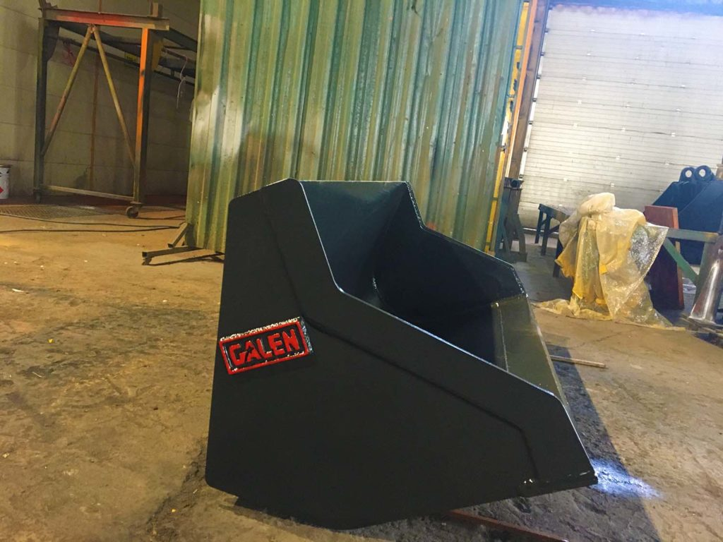 mini loader bucket