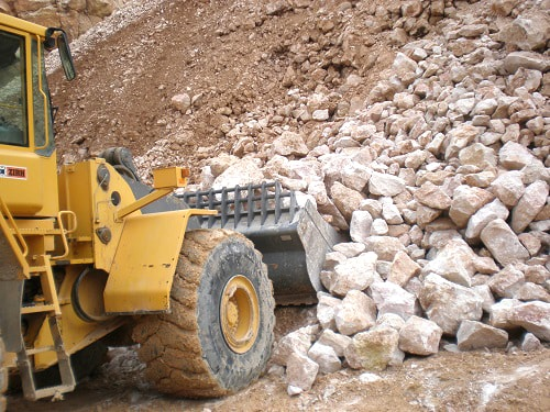Rock Bucket for loader