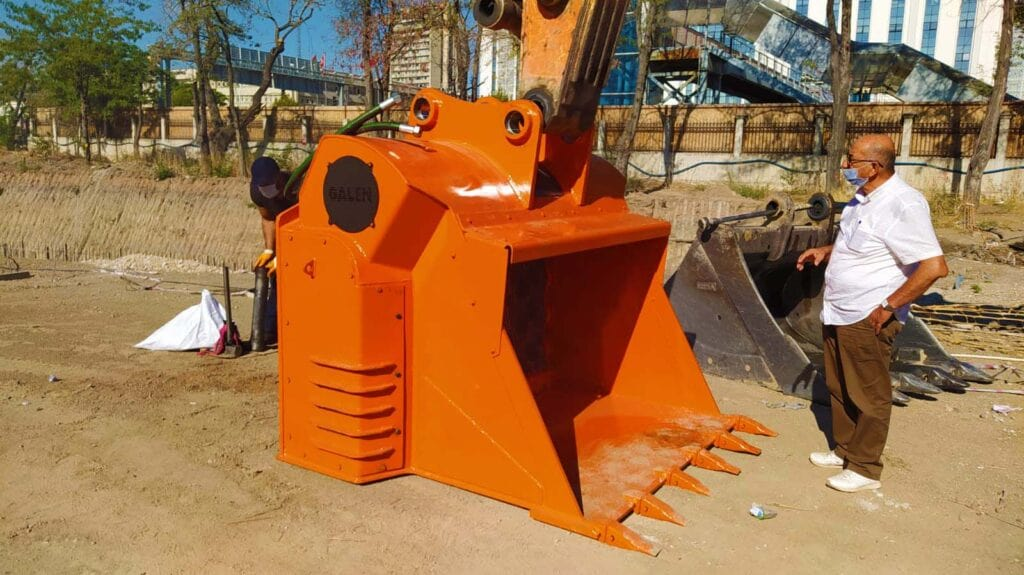 Screening Bucket Excavator