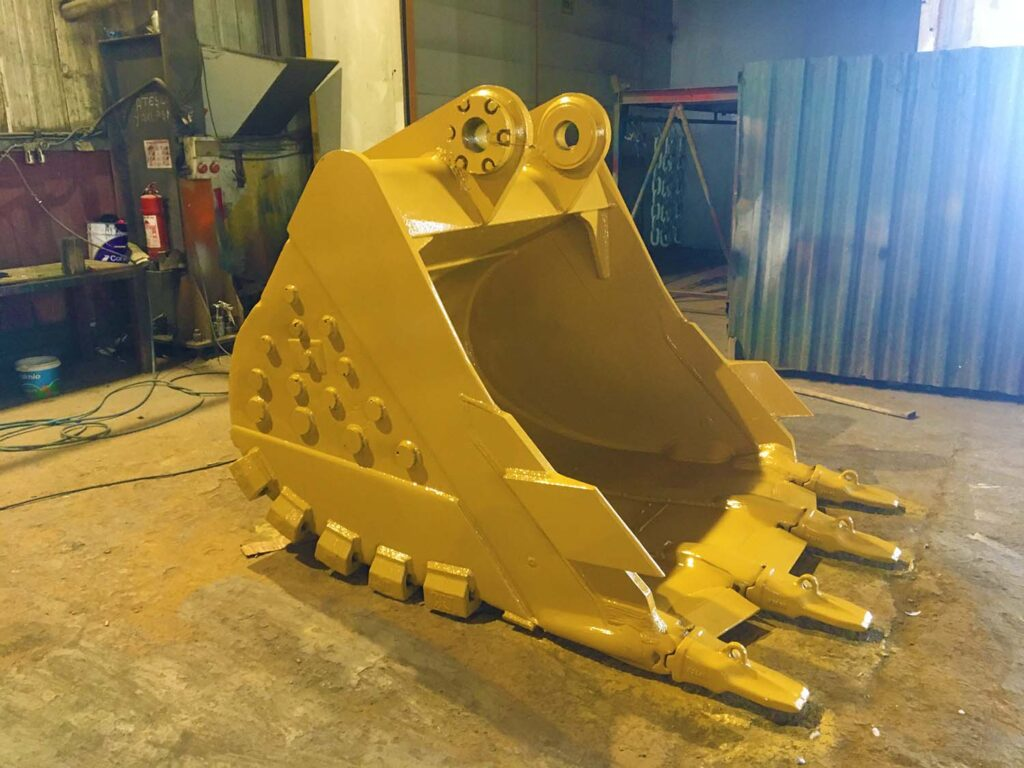 heavy duty bucket excavator
