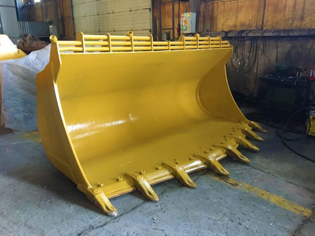 Rock Bucket Excavator Loader