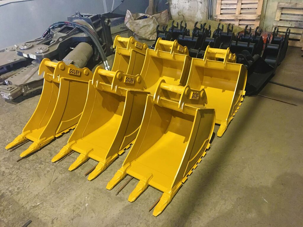 Mass Production For Excavator Bucket 15.03.2021