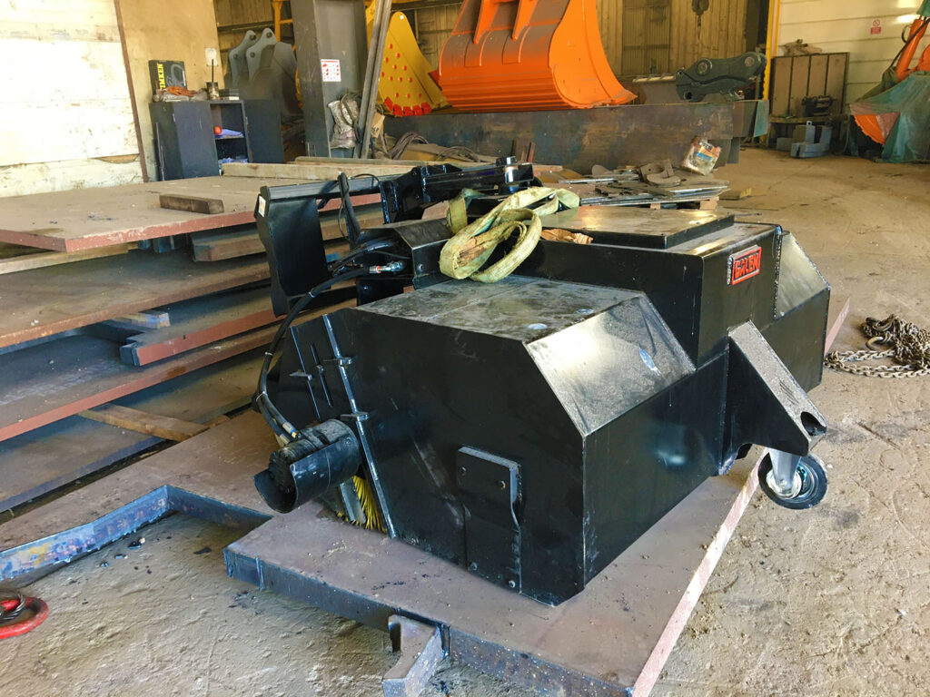 Sweeper Attachments For Loader