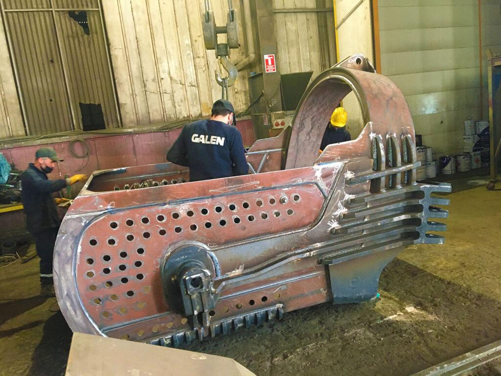 Dragline Excavator Bucket