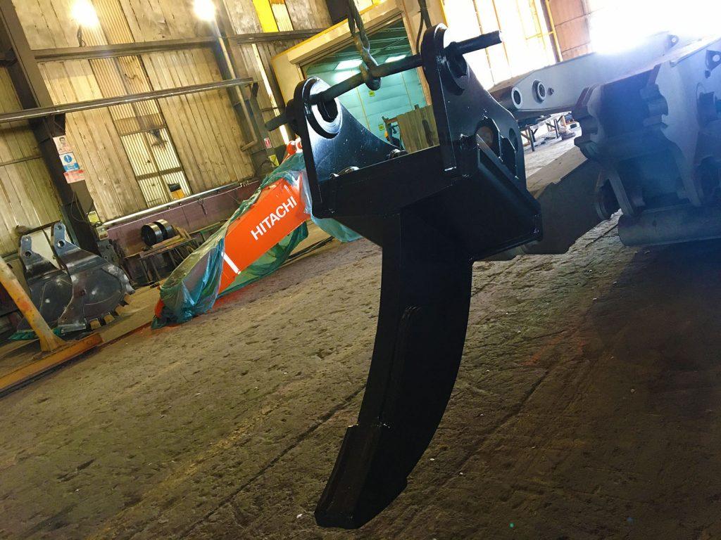 Ripper Attachment for Compact Excavators